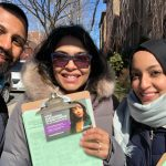 We canvassed during some cold days!